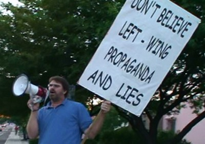 Sign - Don't Believe Left - Wing Propaganda and Lies